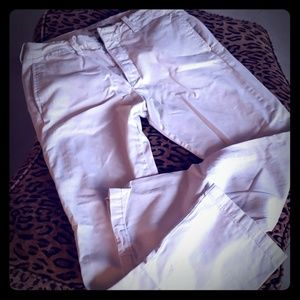 ABERCROMBIE slightly distressed khaki pants W32L32